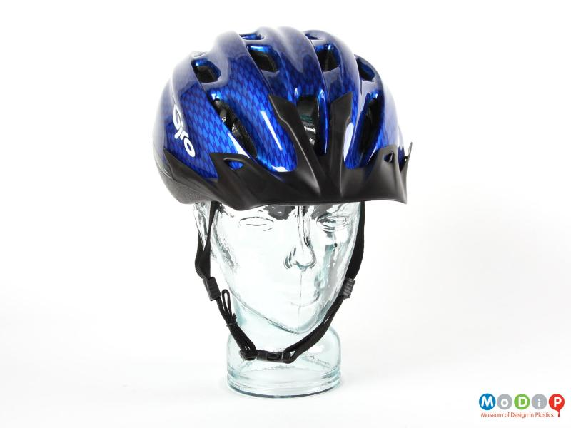 Front view of a Giro helmet showing the air vents in the top.