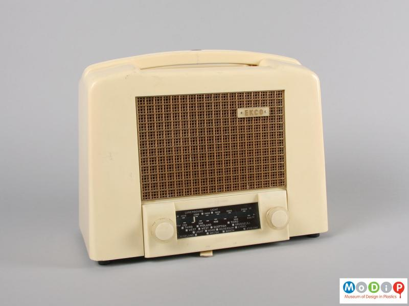 Front view of a radio showing the EKCO label.