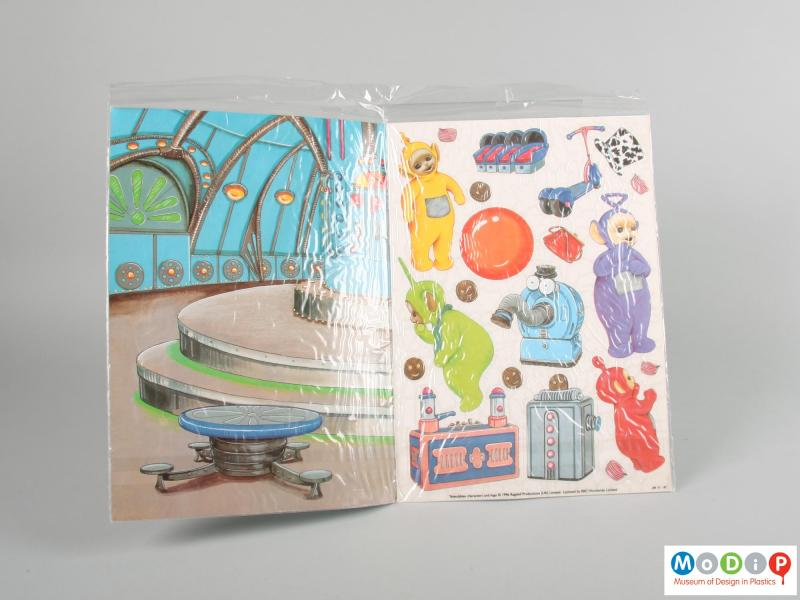 Teletubbies Make A Scene Activity Book Museum Of Design