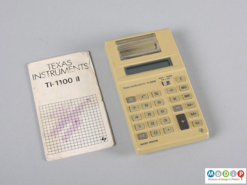T1-100 11 Texas Instruments calculator   Museum of Design in