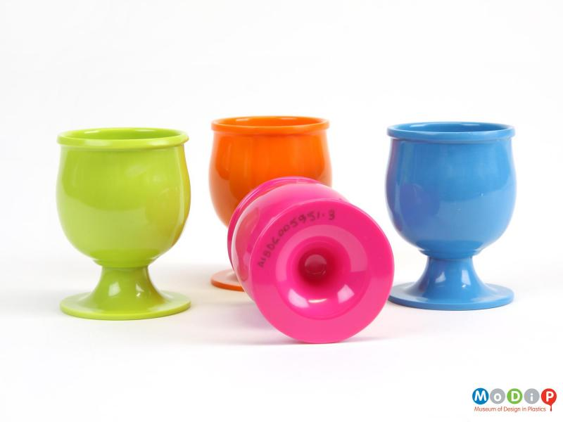 Set Of Zak Egg Cups Museum Of Design In Plastics