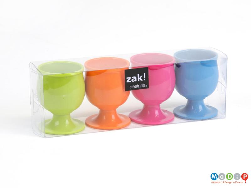 Set Of Zak Egg Cups Museum Of Design In Plastics