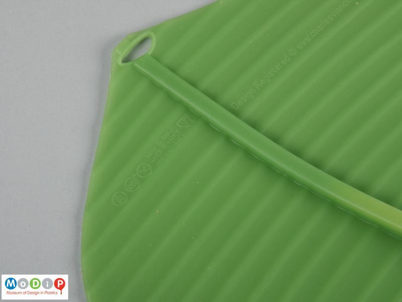 Banana Leaf Oval Lid Museum Of Design In Plastics
