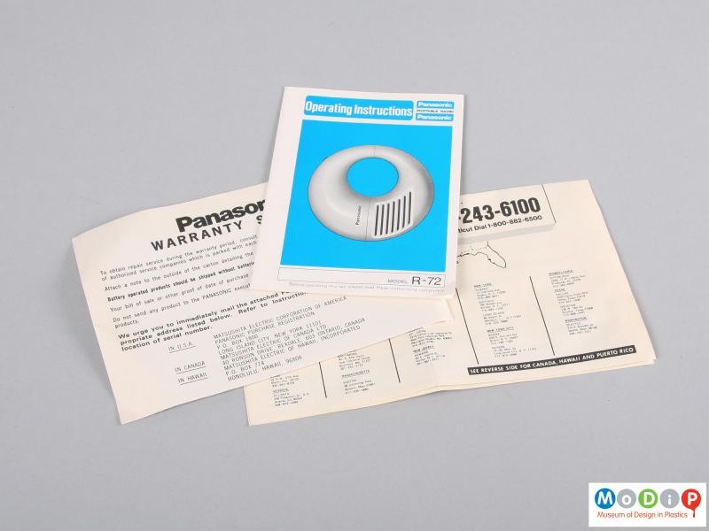 Panasonic Toot-a-loop | Museum of Design in Plastics