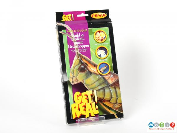 Front view of a Get Real Puzzle showing the front of the box