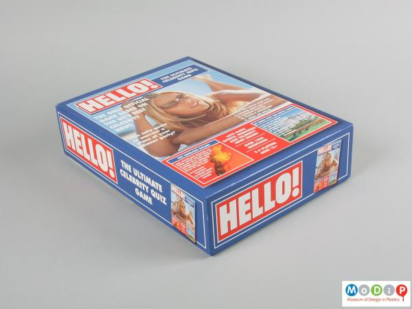 Front view of a board game box showing the printed lid.