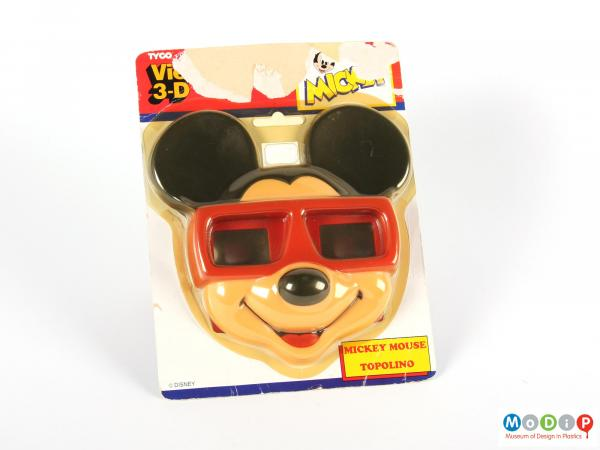 Front view of a transparency viewer showing the packaging.