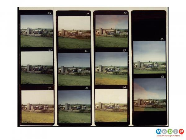 Scanned image showing an 11 image contact sheet.
