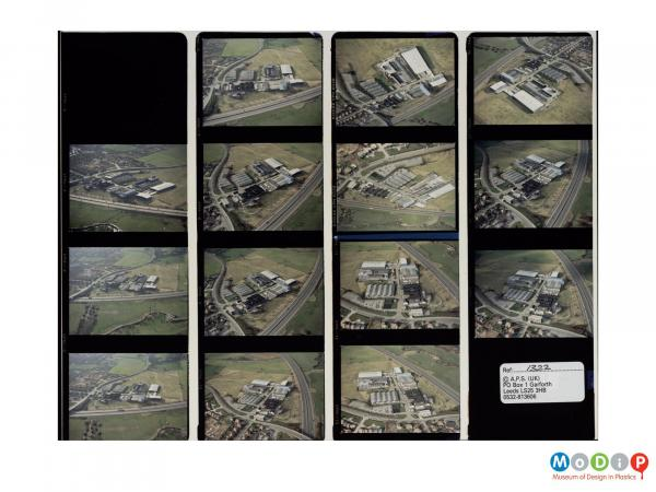 Scanned image showing a 14 image contact sheet.