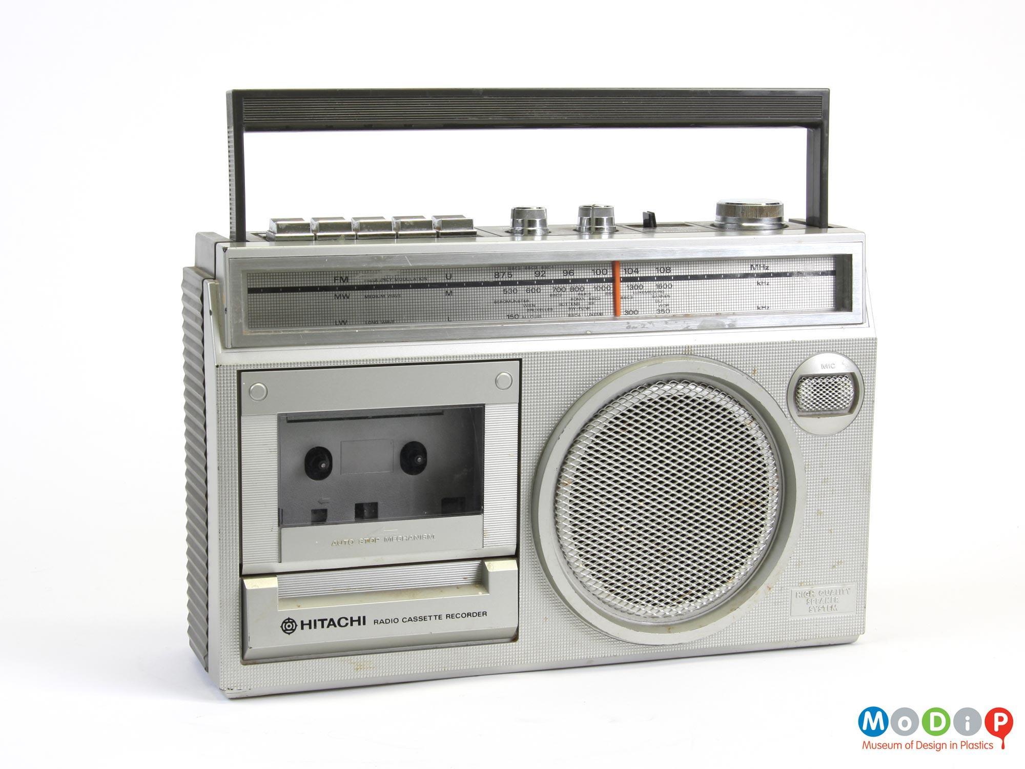 Hitachi Trk 5351l Radio Cassette Recorder Museum Of