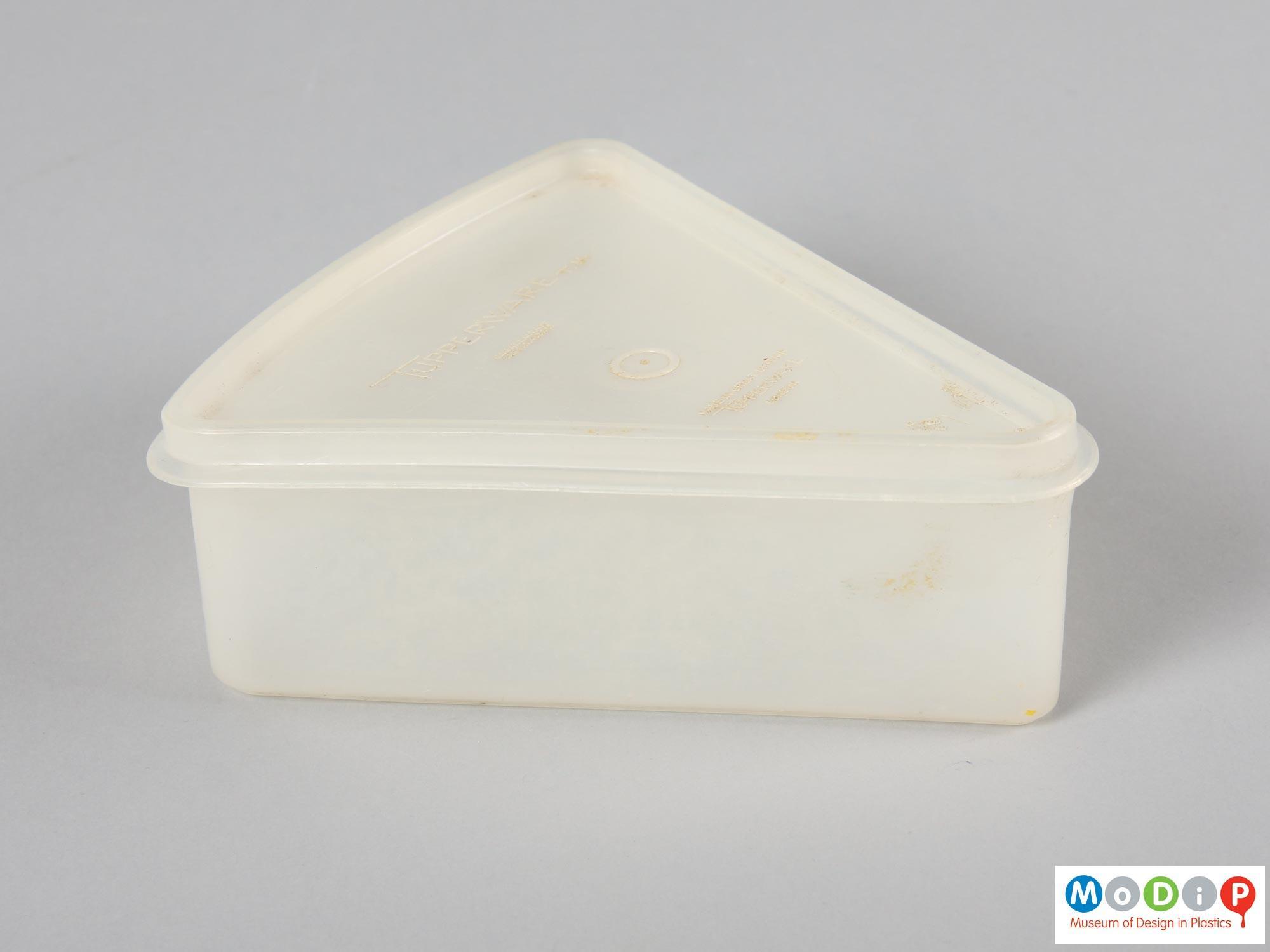 Triangular Tupperware Container Museum Of Design In Plastics