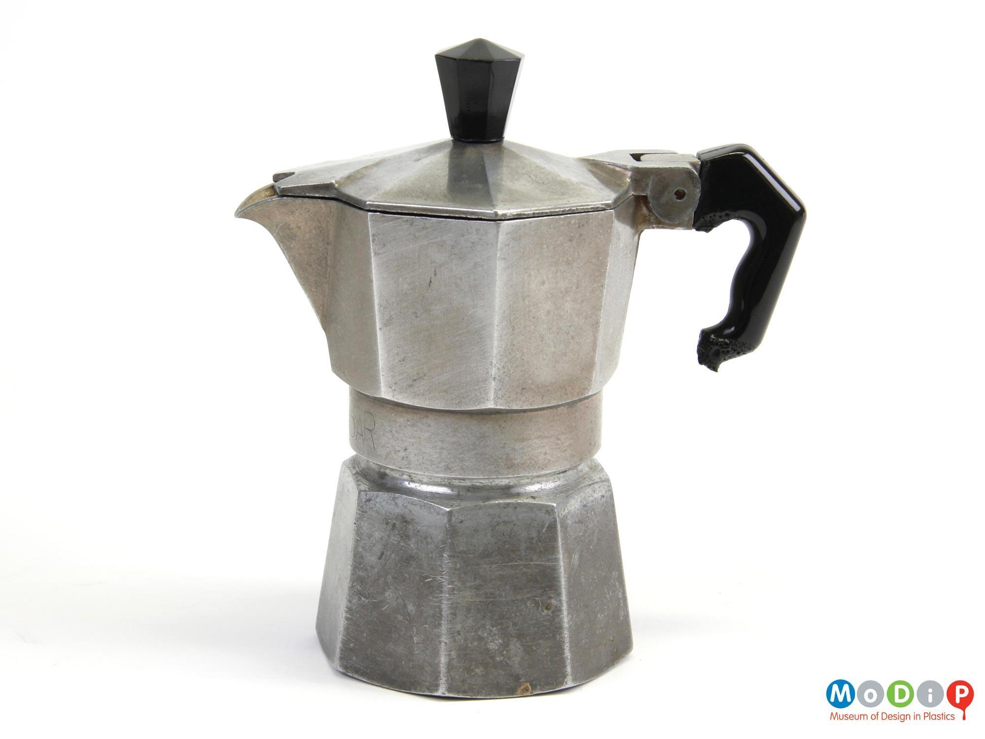 bialetti zanzibar coffee maker museum  design  plastics