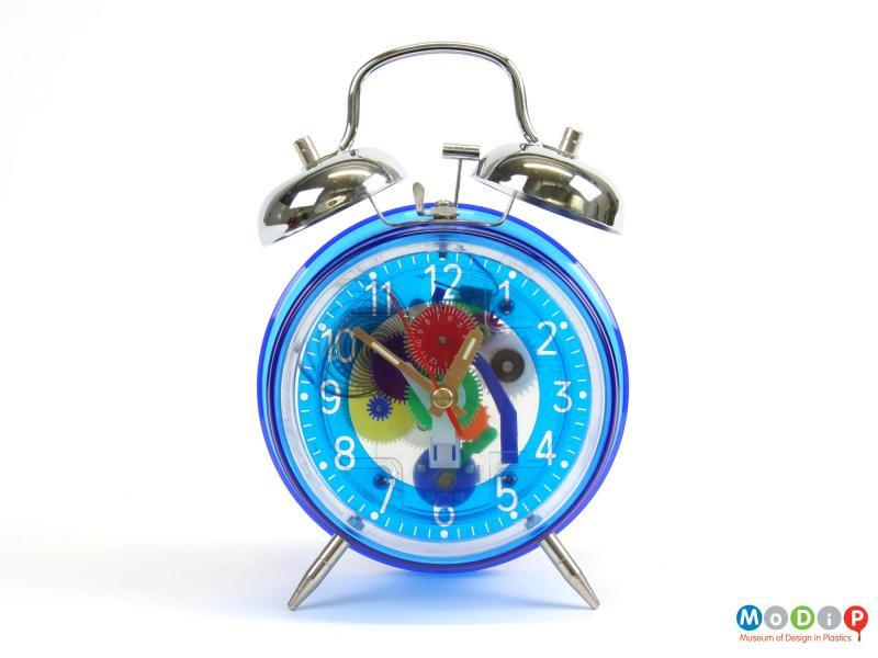 Translucent Clockwork Alarm Clock.