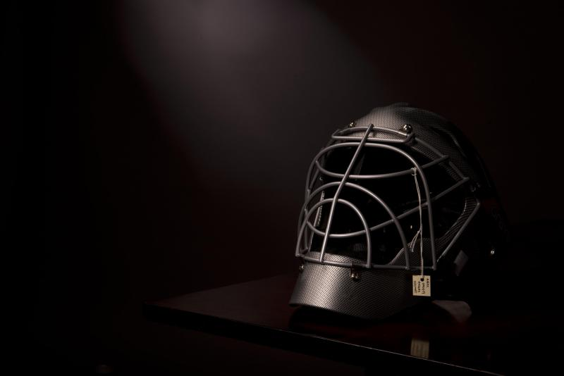 """Still Life with Hockey Helmet [Single Object, AIBDC 006419, CR, 223, 8 of 8, 1.2kg]"", 2015"